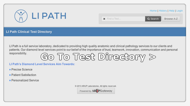 Go to the test directory >